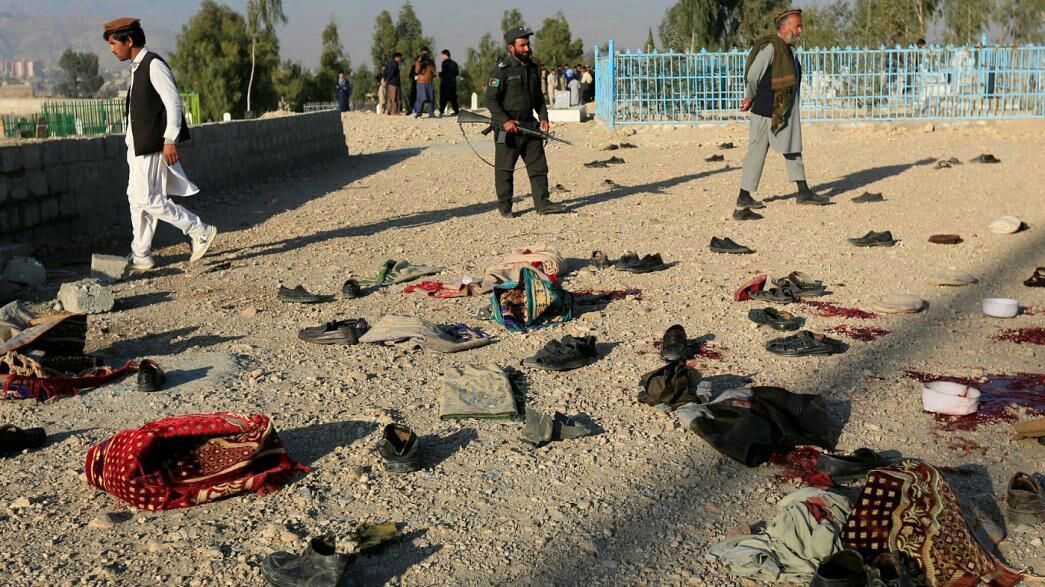 تصویر 30 کشته و زخمی در نتیجه انفجار مین در جلالآباد افغانستان