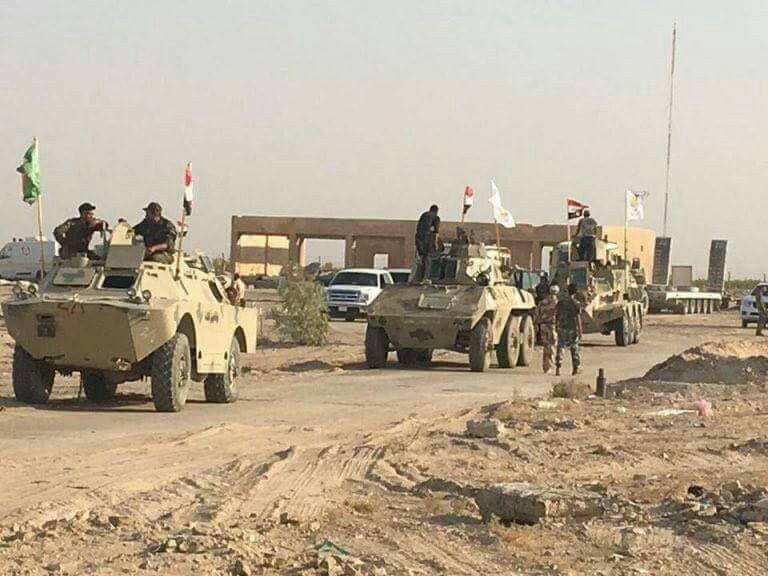 تصویر حشد الشعبی امنیت طوز خورماتو را به ارتش عراق واگذار کرد