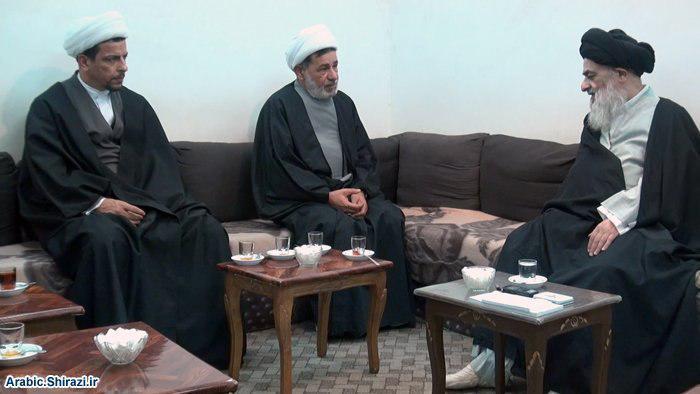 تصویر تاکید مرجعیت شیعه بر ایستادگی در مقابل انحرافات فکری- عقیدتی