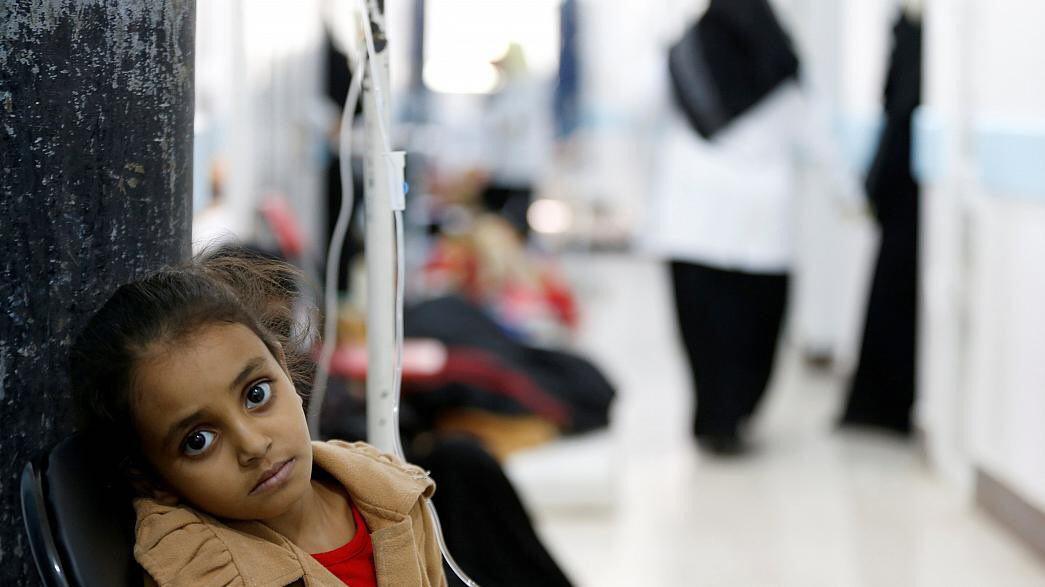 تصویر ابتلای 471 نفر در یمن به بیماری دیفتری