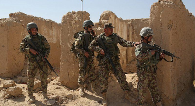 تصویر وزارت دفاع افغانستان: ۳۴ تروریست از جمله ۷ پاکستانی از پای درآمدند