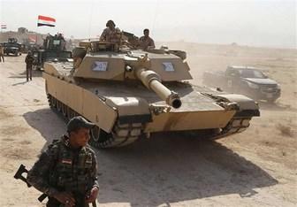 تصویر آغاز عملیات پاکسازی عناصر داعش از صحرای الانبار تا مرزهای عربستان