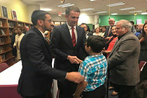 تصویر انتخاب معلم مسلمان برای وزارت آموزش کالیفرنیا