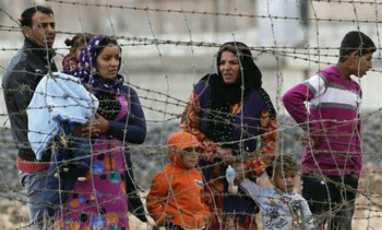 تصویر بازگشت 1500 آواره عراقی به شهر الحویجه