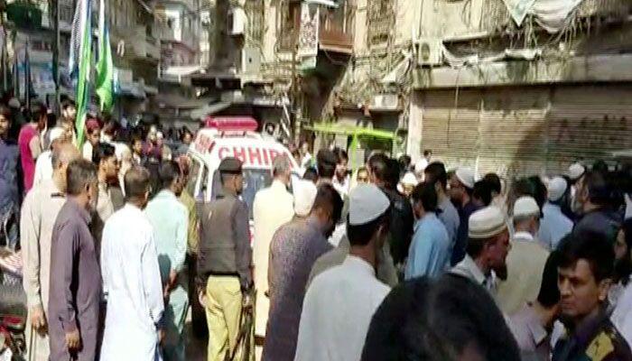 تصویر 3 حمله تروریستی در پاکستان