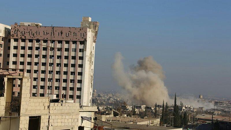 تصویر ببش از 30 شهید و مجروح در حمله خمپارهای به دمشق