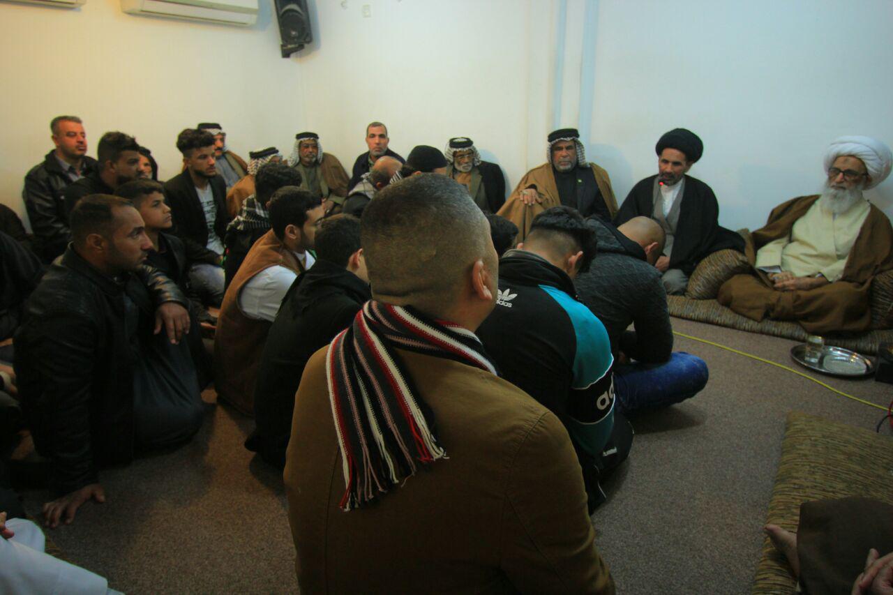 تصویر هشدار آیتالله العظمی بشیر النجفی نسبت به نفوذ عناصر داعش در جامعه عراق