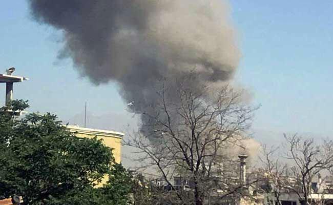 تصویر انفجار تروریستی در کابل