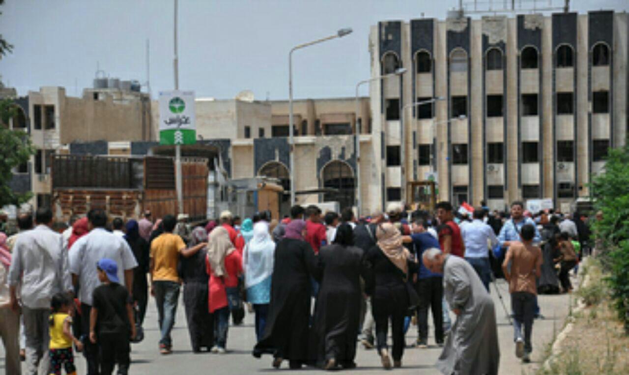 تصویر بازگشت ۱۴۰ هزار خانواده عراقی به منازل خود در استان صلاح الدین