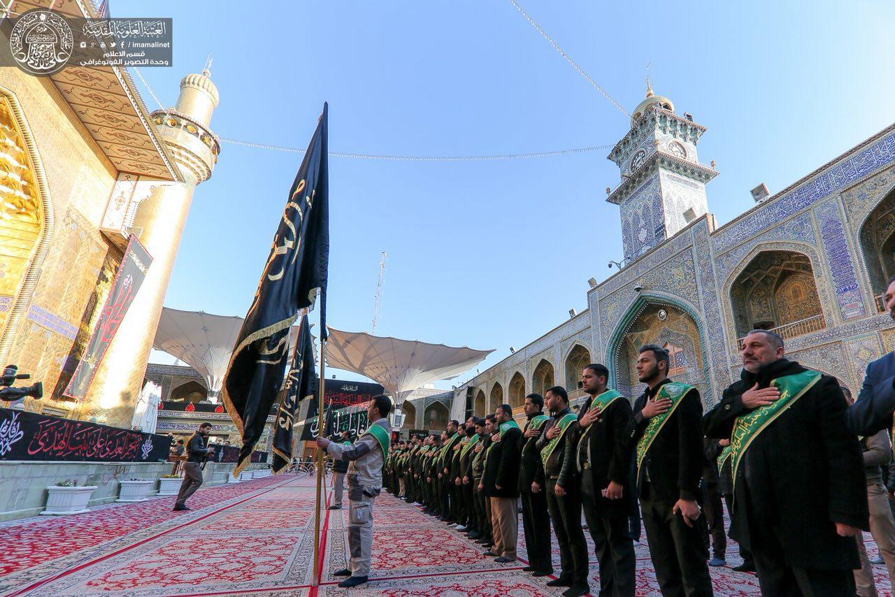 تصویر گزارش تصویری – عزاداری خادمان آستان علوی به مناسبت شهادت حضرت فاطمه زهرا علیها السلام شهر مقدس نجف – عراق