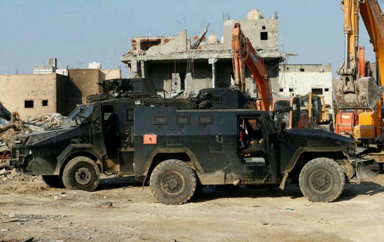 تصویر حمله نظامیان سعودی به شهر شیعه نشین العوامیه عربستان