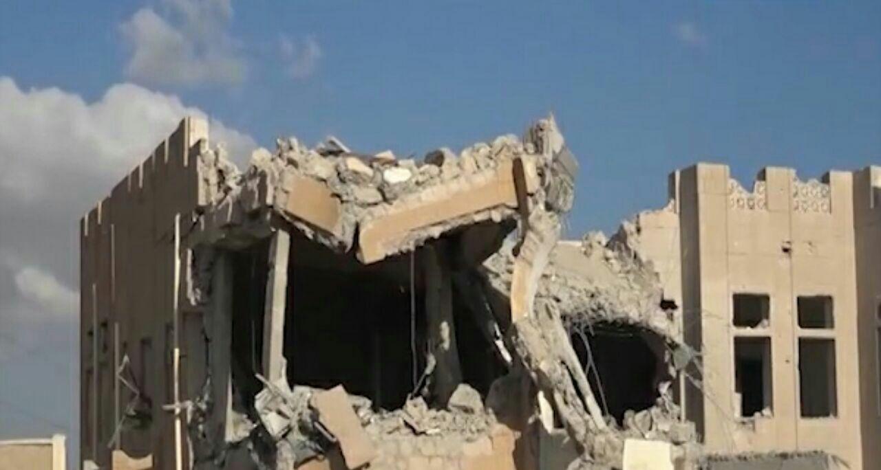 تصویر شهادت چند شهروند یمنی در حملات هوایی جنگندههای متجاوز سعودی