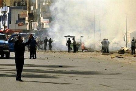 تصویر انفجار در شمال بغداد