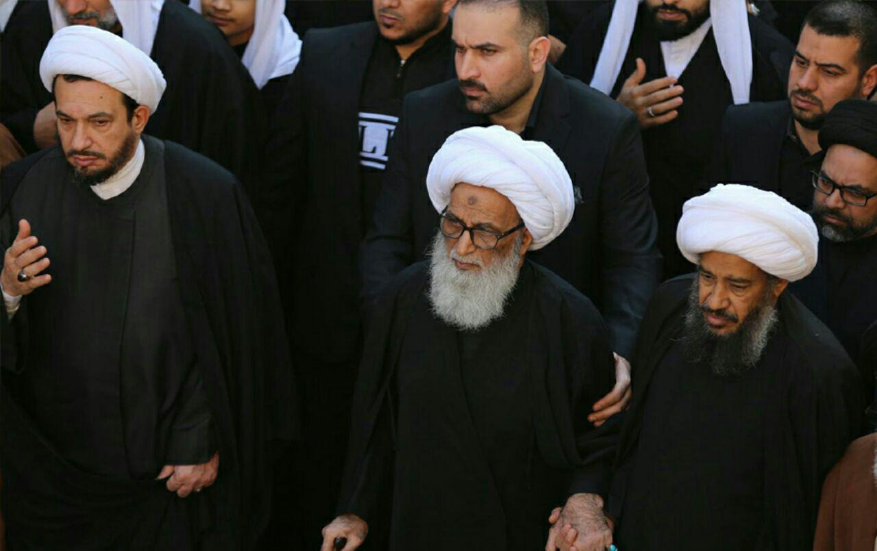 تصویر گزارش تصویری- دسته عزاداری طلاب نجف اشرف در سالروز شهادت حضرت زهرا سلام الله علیها