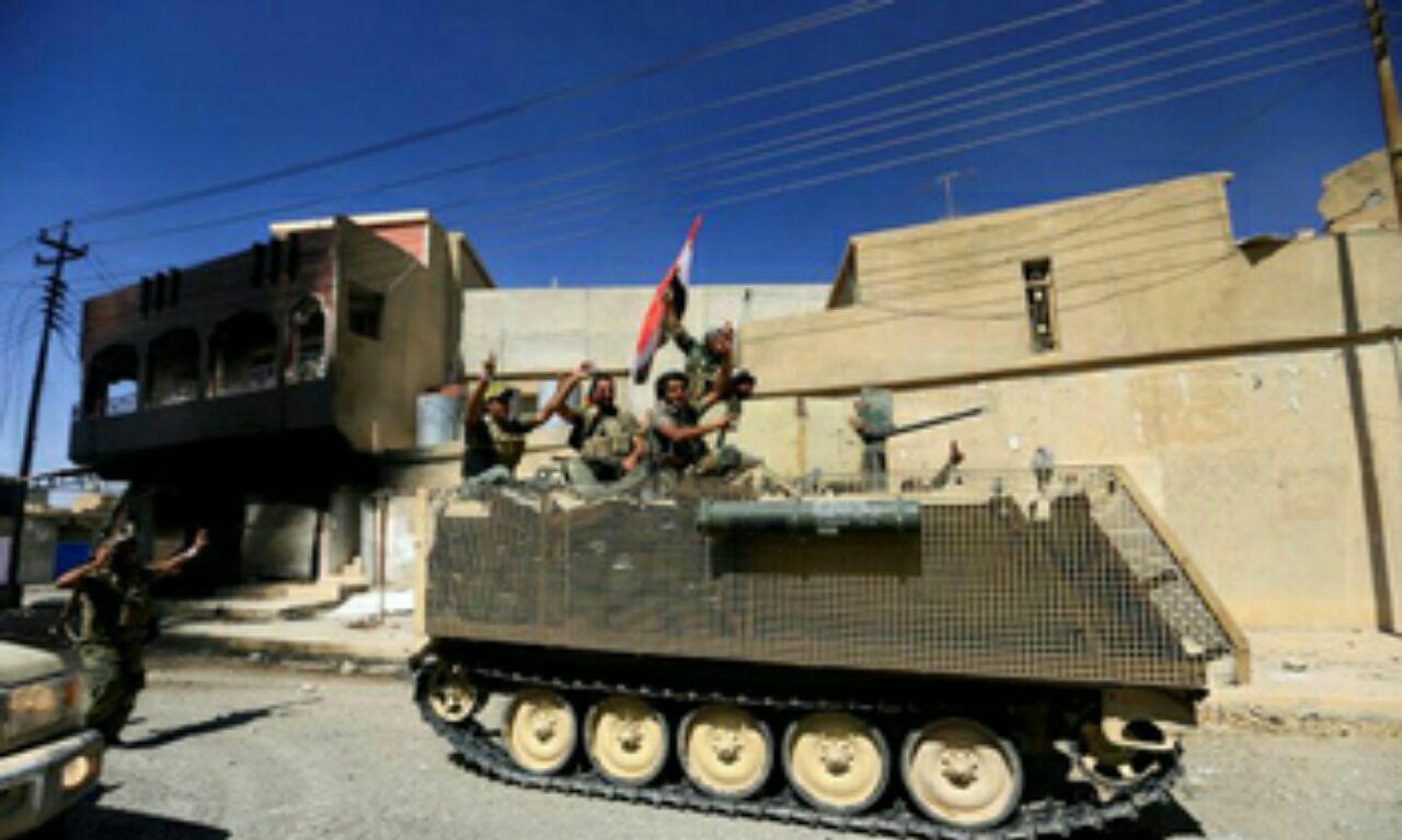 تصویر آغاز عملیات پاکسازی طوزخوماتو در عراق