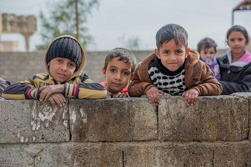 تصویر گزارش یونیسف از تاثیر فقر بر کودکان عراقی
