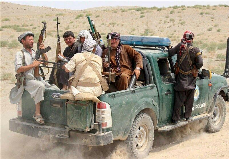 تصویر کشته شدن ۱۶ پلیس محلی در جنوب افغانستان