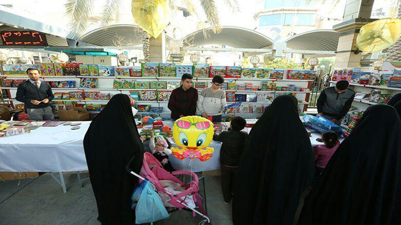 تصویر نمایشگاه بین المللی کودک در شهر مقدس کربلا