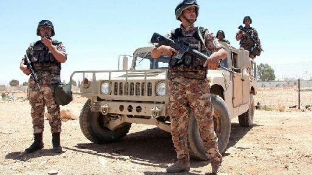 تصویر عملیات انتقال تروریست به خاک اردن از مرز سوریه و عراق خنثی شد