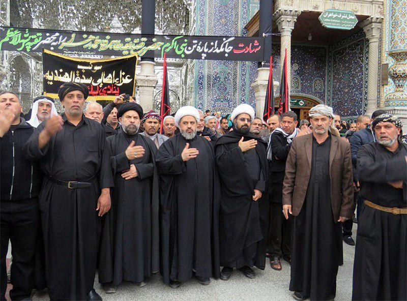 تصویر فعالیت های مجمع جهانی هیئات و مواکب حسینی در شهر مقدس قم