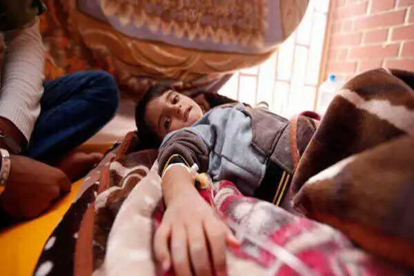 تصویر افزایش شمار قربانیان دیفتری به ۶۲ نفر در یمن