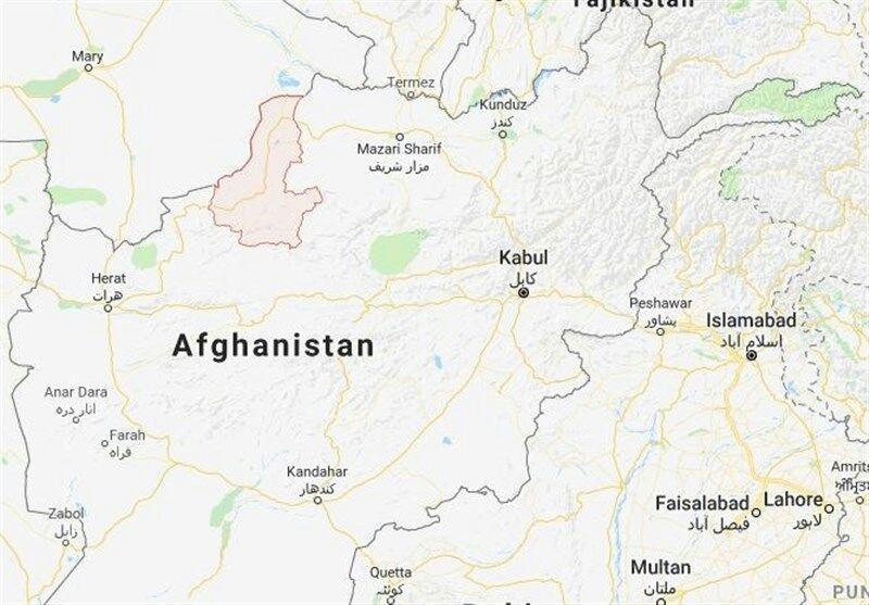 تصویر یک پاسگاه پلیس در شمال افغانستان در حمله طالبان سقوط کرد