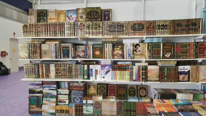 تصویر حضور موسسه دار العلوم در نمایشگاه بین المللی کتاب مسقط