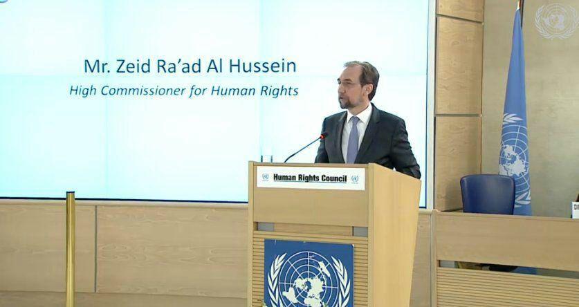 تصویر انتقاد کمیساریای عالی حقوق بشر سازمان ملل از نقض حقوق بشر در بحرین