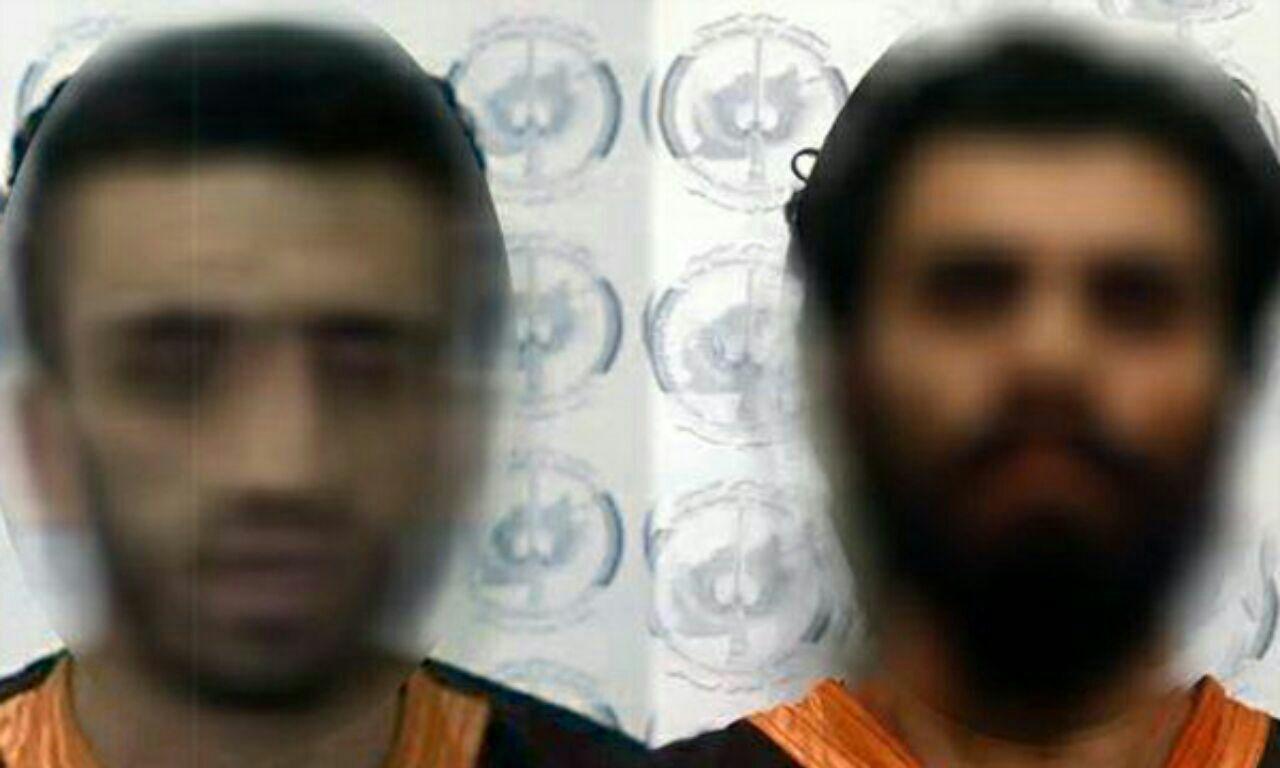 تصویر بازداشت دو طراح اصلی حمله به مسجد امام زمان عجل الله فرجه کابل