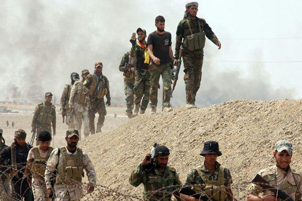 تصویر آغاز عملیات الحشد الشعبی در استان الانبار