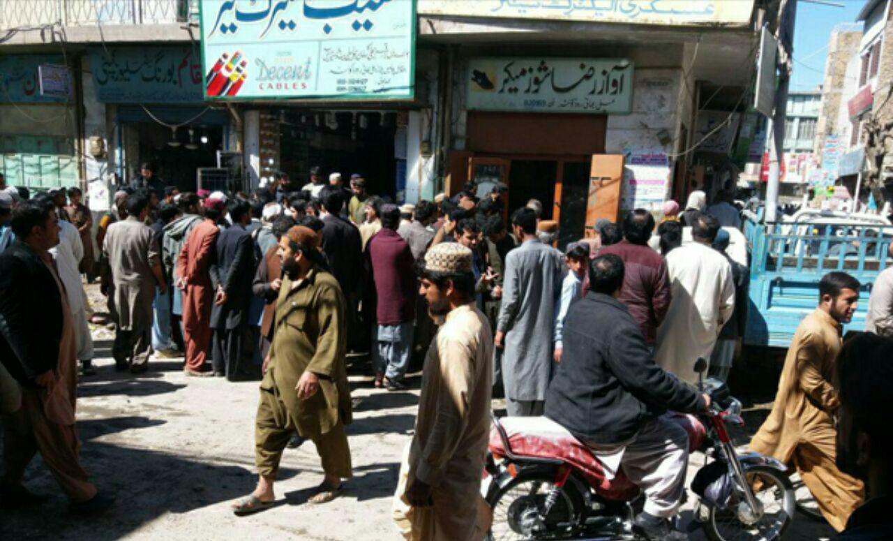 تصویر شهادت یک شهروند شیعه دیگر در پاکستان