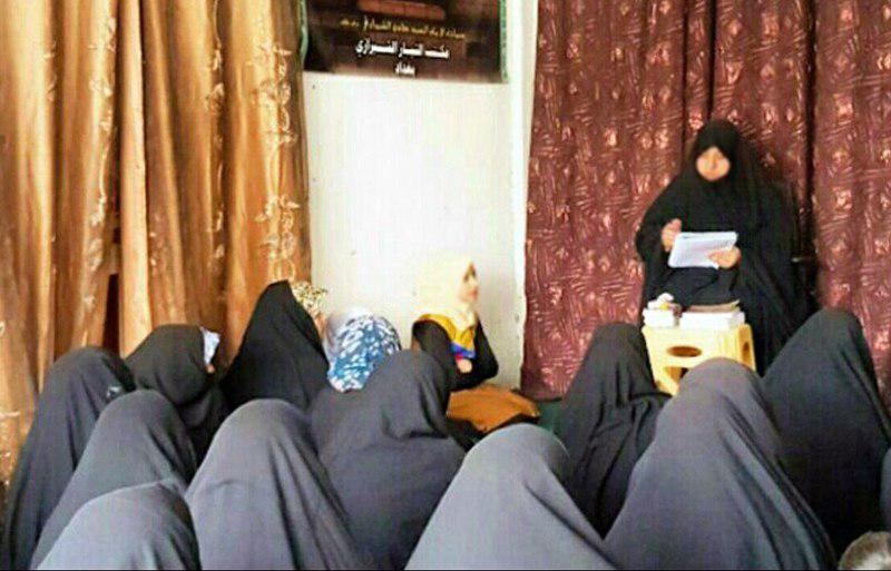 تصویر نشستی با هدف بزرگداشت حضرت ام البنین سلام الله علیها در بغداد