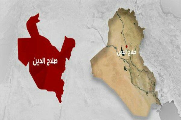 تصویر خنثی شدن عملیات انتحاری داعش در صلاحالدین