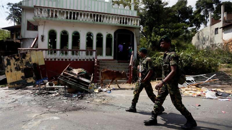 تصویر محکومیت خشونت علیه مسلمانان در سریلانکا