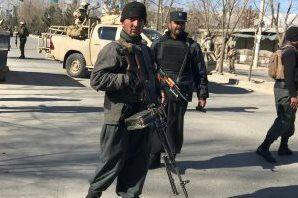 تصویر حمله موشکی طالبان به «ننگرهار» افغانستان