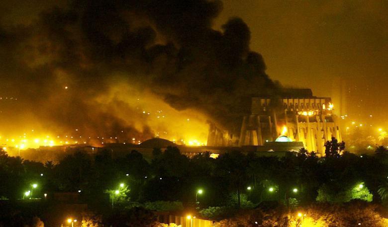 تصویر سالگرد حمله آمریکا به عراق
