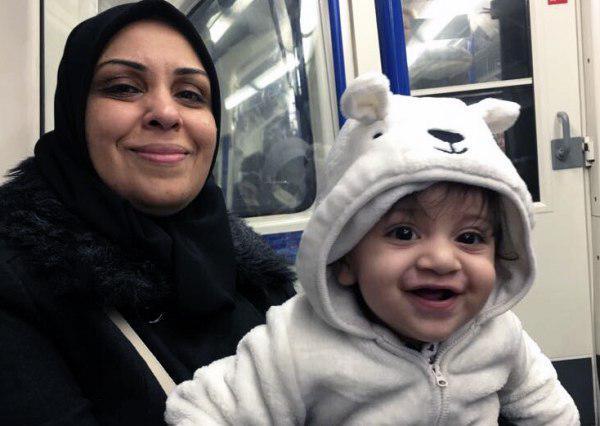 تصویر انتقال زندانی زن بحرینی به بیمارستان در پی اعتصاب غذا