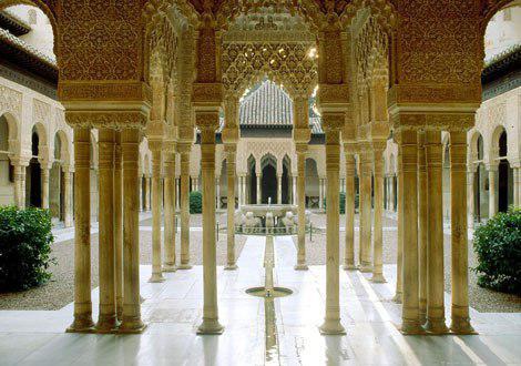 تصویر تور مطالعاتی دانشگاه کانادایی درباره اسلام در اسپانیا