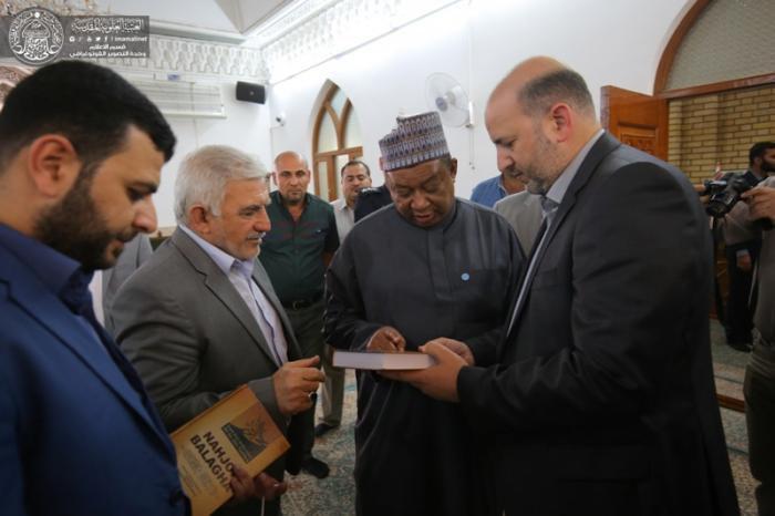 تصویر دبرکل اوپک: امام علی علیه السلام، امام اسلام و تمامی انسان ها ست