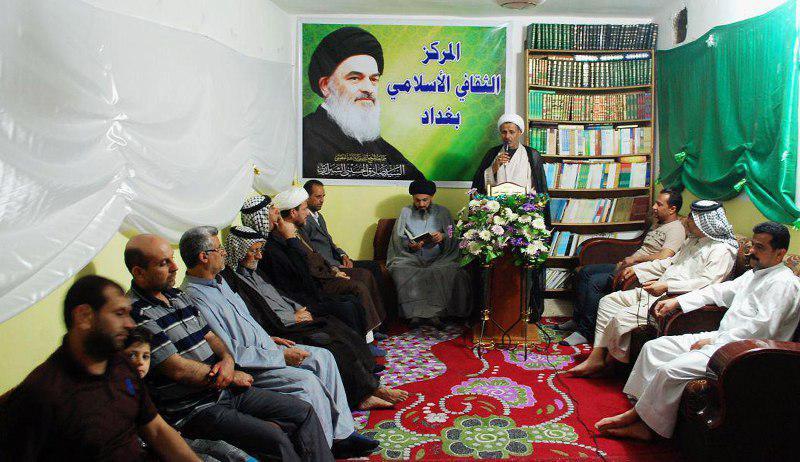 تصویر جشن میلاد حضرت جواد الائمه و امیرالمومنان علیهما سلام در بغداد