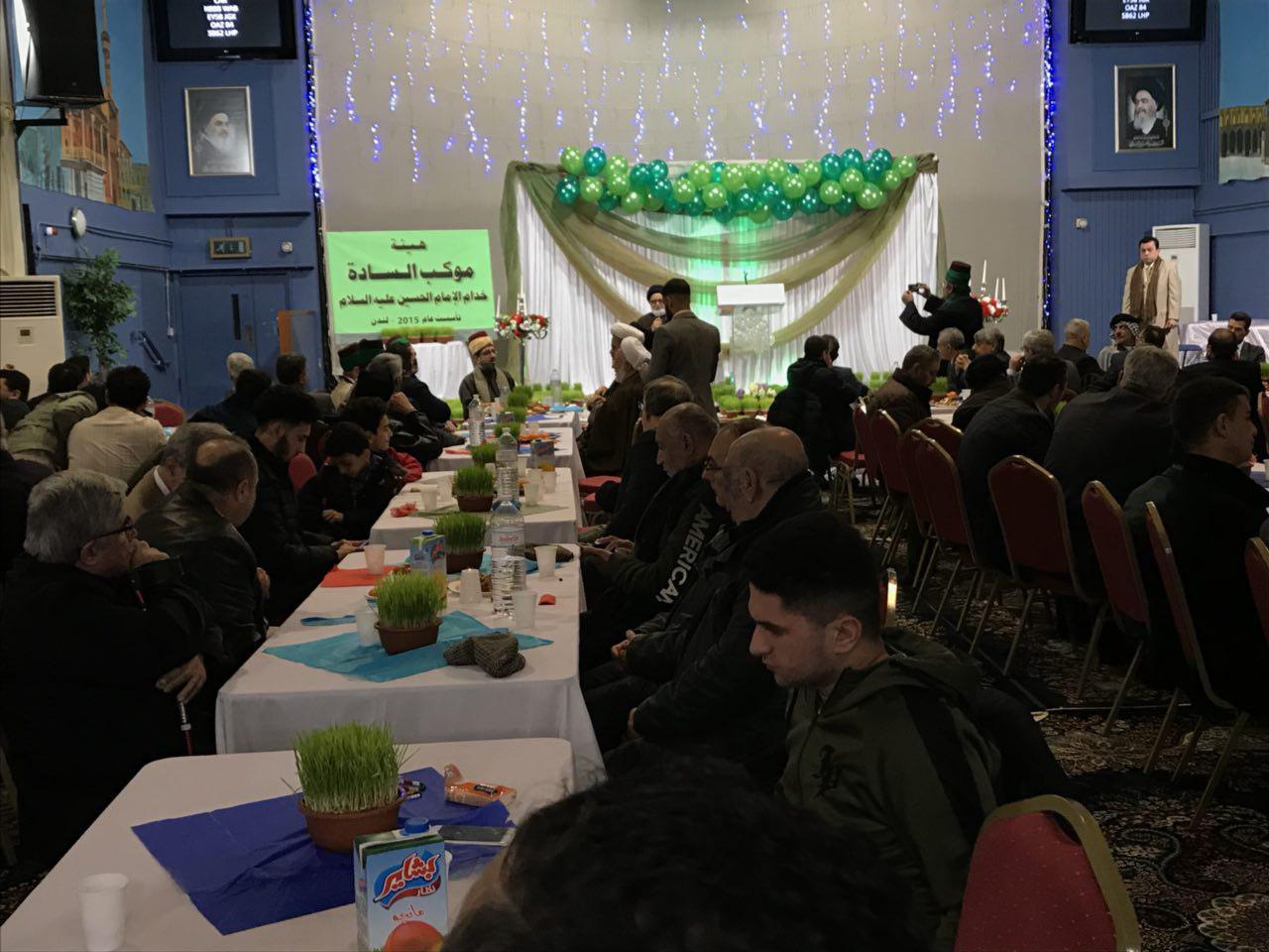 تصویر جشن میلاد امیر المومنین علیه السلام در حسینیه رسول اعظم لندن