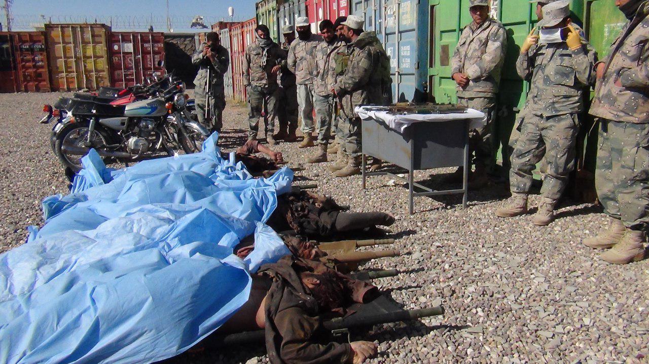 تصویر دهها تن از سنی های تندرو در قندهار کشته شدند