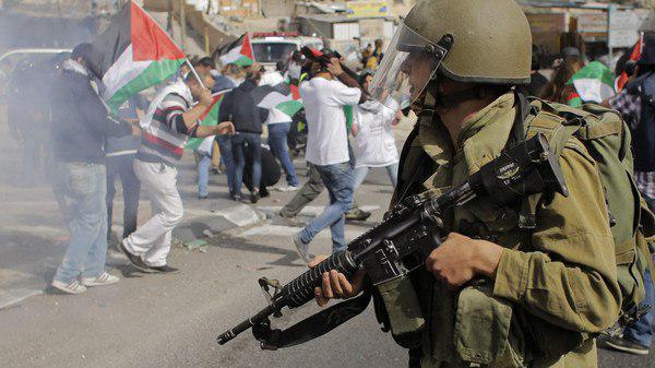 تصویر محکومیت جنایت های اسرائیل علیه فلسطینیان، از سوی «مرکز جهانی آدم»