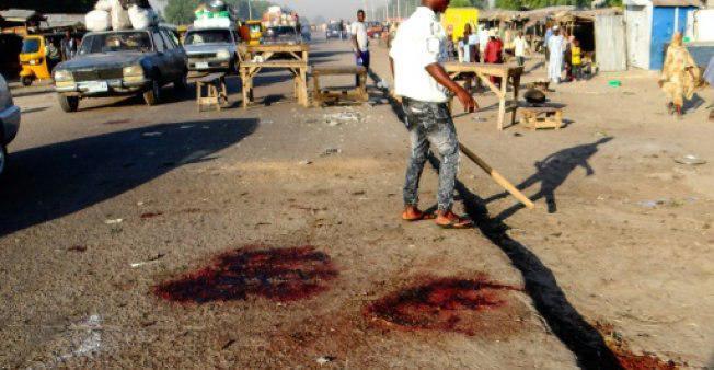 تصویر بیش از 100 کشته و مجروح در حمله بوکوحرام