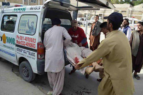تصویر تروریست ها 5 نفر را در کویته پاکستان کشتند