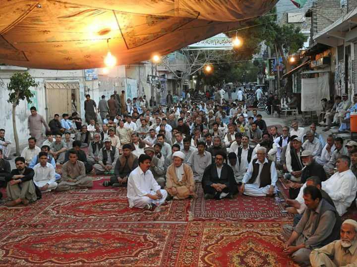 تصویر اعتراض به ترور شیعیان در کویته