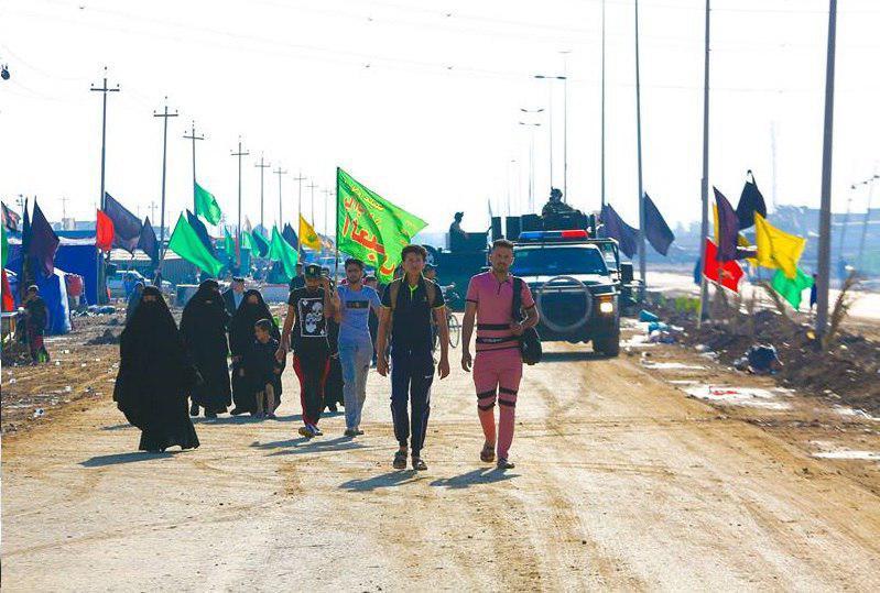 تصویر آغاز اجرای طرح امنیتی ویژه زیارت امام کاظم علیه السلام در عراق