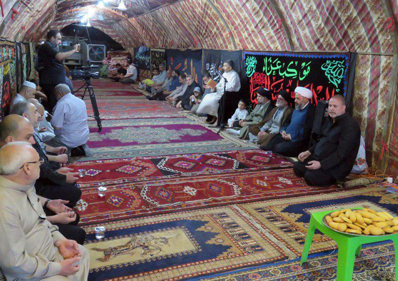 تصویر آغاز فعالیت های مجمع جهانی هیئات و مواکب حسینی در آستانه شهادت امام هفتم