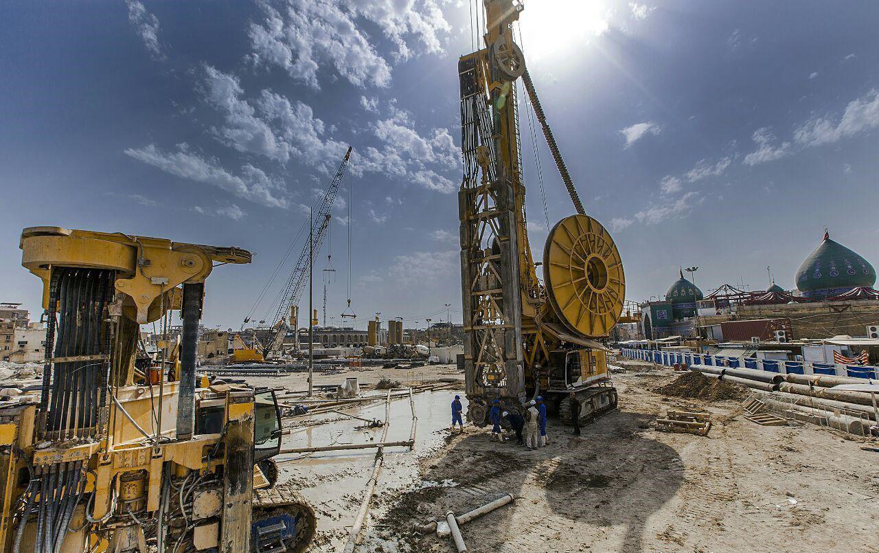 تصویر پایان مسقف سازی خیمه گاه حسینی تا 3 ماه دیگر