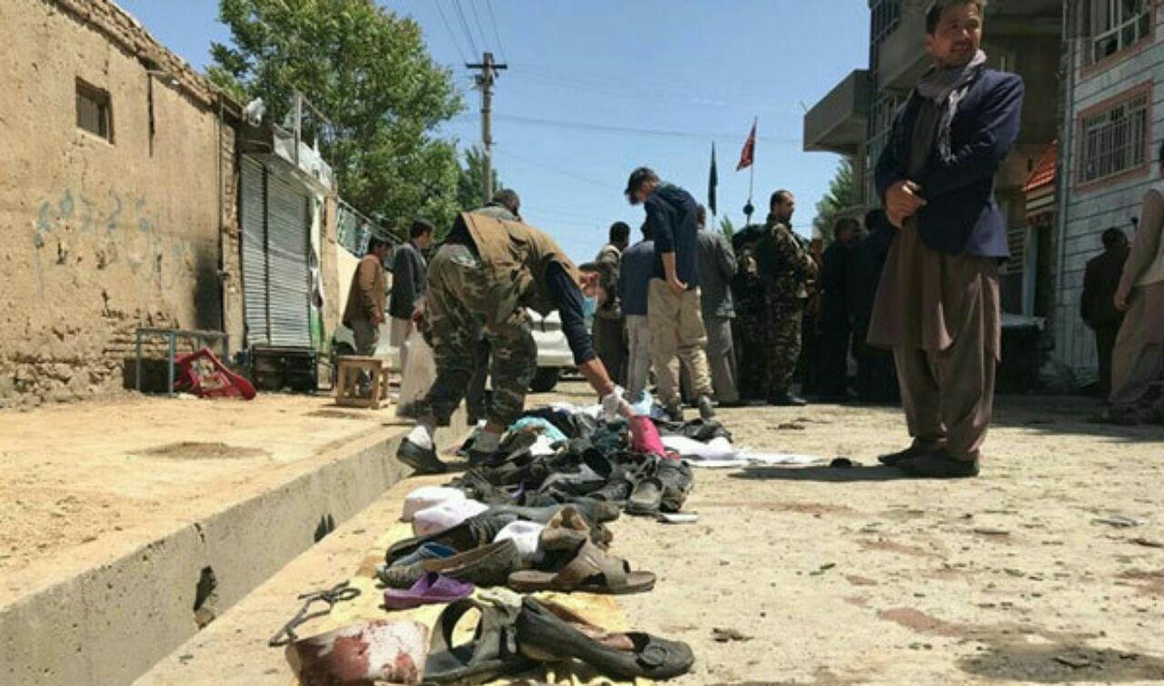تصویر افزایش شمار تلفات انفجار امروز کابل/مسئولیت با داعش